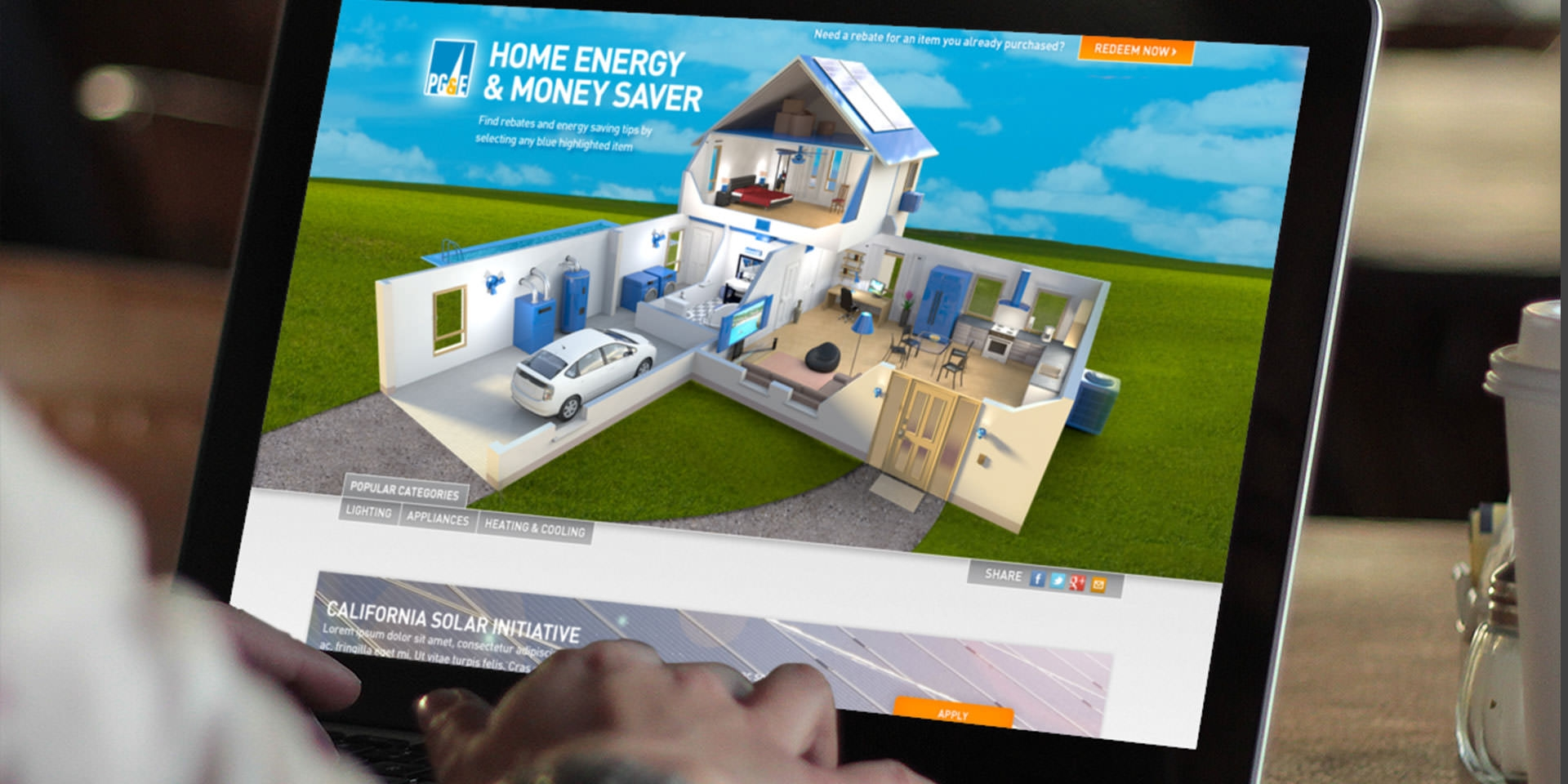 PG&E Home Money Saver