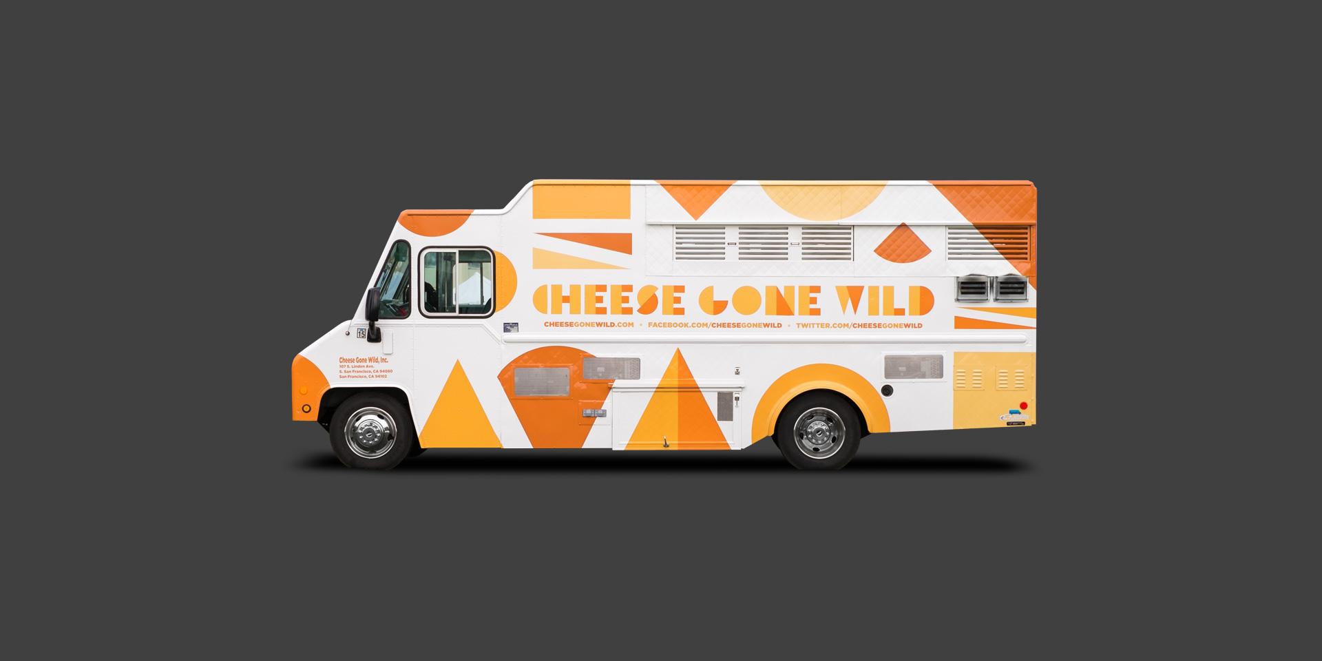 Cheese gone wild food truck adam j aaron advertising for Design your food truck